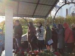 В Линево состоялась панихида по доброму пастырю протоиерею Борису Дмитруку