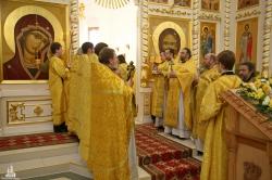 Божественная литургия в день тезоименитства епископа Искитимского и Черепановского Луки