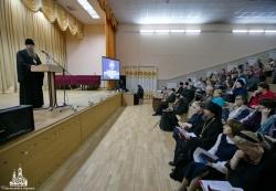 Состоялось пленарное заседание VII Искитимских Рождественских Чтений