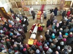 Фоторепортаж и видео с похорон иеромонаха Иосифа (Бирюкова)