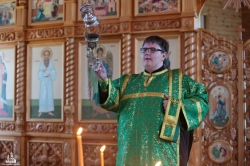 Епископ Искитимский и Черепановский Лука возглавил в Турнаево торжества, посвященные 115-летию канонизации Серафима Саровского