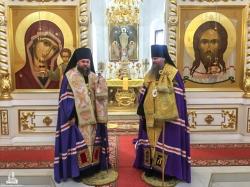 Вся полнота Искитимской епархии молится со своим архипастырем в день его тезоименитства, память апостола и евангелиста Луки
