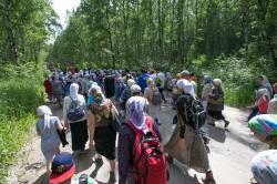 Масштабный крестный ход состоялся в Искитиме в день Всех святых в земле Русской просиявших
